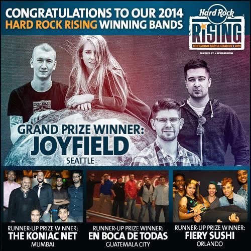Hard Rock Rising Winning Band