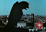 Image of Gargoyles and Grotesques Paris France, 1945, second 3 stock footage video 65675020419