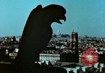 Image of Gargoyles and Grotesques Paris France, 1945, second 7 stock footage video 65675020419