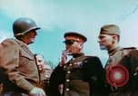 Image of Russian and US Major Generals Torgau Germany, 1945, second 3 stock footage video 65675020423