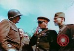 Image of Russian and US Major Generals Torgau Germany, 1945, second 4 stock footage video 65675020423