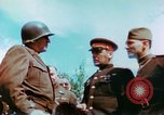 Image of Russian and US Major Generals Torgau Germany, 1945, second 6 stock footage video 65675020423