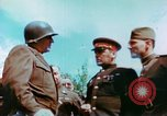 Image of Russian and US Major Generals Torgau Germany, 1945, second 7 stock footage video 65675020423