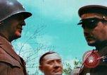 Image of Russian and US Major Generals Torgau Germany, 1945, second 15 stock footage video 65675020423