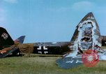 Image of German Luftwaffe airplanes Germany, 1945, second 38 stock footage video 65675020428