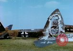 Image of German Luftwaffe airplanes Germany, 1945, second 39 stock footage video 65675020428