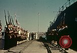 Image of Eisenhower in North Africa Tunis Tunisia Tunis Port, 1942, second 32 stock footage video 65675020444
