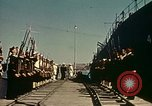 Image of Eisenhower in North Africa Tunis Tunisia Tunis Port, 1942, second 33 stock footage video 65675020444
