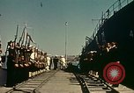 Image of Eisenhower in North Africa Tunis Tunisia Tunis Port, 1942, second 34 stock footage video 65675020444