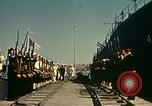 Image of Eisenhower in North Africa Tunis Tunisia Tunis Port, 1942, second 35 stock footage video 65675020444