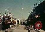 Image of Eisenhower in North Africa Tunis Tunisia Tunis Port, 1942, second 37 stock footage video 65675020444