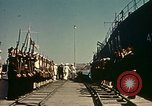 Image of Eisenhower in North Africa Tunis Tunisia Tunis Port, 1942, second 39 stock footage video 65675020444