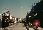 Image of Eisenhower in North Africa Tunis Tunisia Tunis Port, 1942, second 41 stock footage video 65675020444
