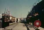 Image of Eisenhower in North Africa Tunis Tunisia Tunis Port, 1942, second 44 stock footage video 65675020444
