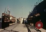 Image of Eisenhower in North Africa Tunis Tunisia Tunis Port, 1942, second 53 stock footage video 65675020444