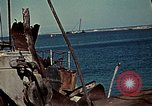 Image of North African Campaign Tunis Tunisia Tunis Port, 1942, second 32 stock footage video 65675020449