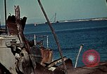 Image of North African Campaign Tunis Tunisia Tunis Port, 1942, second 33 stock footage video 65675020449