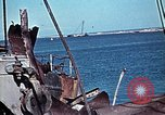 Image of North African Campaign Tunis Tunisia Tunis Port, 1942, second 43 stock footage video 65675020449