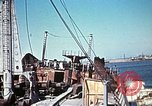 Image of North African Campaign Tunis Tunisia Tunis Port, 1942, second 46 stock footage video 65675020449