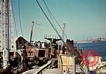 Image of North African Campaign Tunis Tunisia Tunis Port, 1942, second 48 stock footage video 65675020449