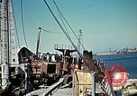 Image of North African Campaign Tunis Tunisia Tunis Port, 1942, second 52 stock footage video 65675020449