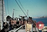 Image of North African Campaign Tunis Tunisia Tunis Port, 1942, second 53 stock footage video 65675020449