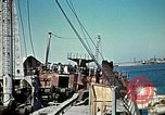 Image of North African Campaign Tunis Tunisia Tunis Port, 1942, second 55 stock footage video 65675020449