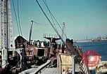 Image of North African Campaign Tunis Tunisia Tunis Port, 1942, second 56 stock footage video 65675020449