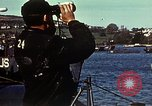 Image of U.S. landing craft gathered in a bay England United Kingdom, 1944, second 16 stock footage video 65675020453