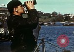 Image of U.S. landing craft gathered in a bay England United Kingdom, 1944, second 21 stock footage video 65675020453