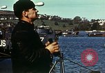 Image of U.S. landing craft gathered in a bay England United Kingdom, 1944, second 22 stock footage video 65675020453