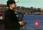Image of U.S. landing craft gathered in a bay England United Kingdom, 1944, second 24 stock footage video 65675020453