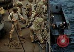 Image of US Army amphibious landing exercise from USS Elizabeth C. Stanton, AP- United States USA, 1942, second 15 stock footage video 65675020464