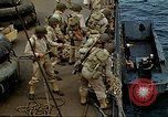 Image of US Army amphibious landing exercise from USS Elizabeth C. Stanton, AP- United States USA, 1942, second 20 stock footage video 65675020464