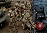 Image of US Army amphibious landing exercise from USS Elizabeth C. Stanton, AP- United States USA, 1942, second 22 stock footage video 65675020464