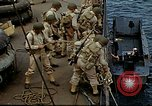 Image of US Army amphibious landing exercise from USS Elizabeth C. Stanton, AP- United States USA, 1942, second 23 stock footage video 65675020464
