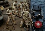 Image of US Army amphibious landing exercise from USS Elizabeth C. Stanton, AP- United States USA, 1942, second 24 stock footage video 65675020464