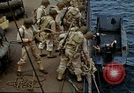 Image of US Army amphibious landing exercise from USS Elizabeth C. Stanton, AP- United States USA, 1942, second 25 stock footage video 65675020464