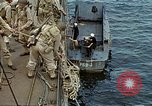 Image of US Army amphibious landing exercise from USS Elizabeth C. Stanton, AP- United States USA, 1942, second 26 stock footage video 65675020464