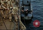 Image of US Army amphibious landing exercise from USS Elizabeth C. Stanton, AP- United States USA, 1942, second 28 stock footage video 65675020464