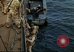 Image of US Army amphibious landing exercise from USS Elizabeth C. Stanton, AP- United States USA, 1942, second 33 stock footage video 65675020464