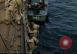 Image of US Army amphibious landing exercise from USS Elizabeth C. Stanton, AP- United States USA, 1942, second 34 stock footage video 65675020464