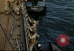 Image of US Army amphibious landing exercise from USS Elizabeth C. Stanton, AP- United States USA, 1942, second 36 stock footage video 65675020464
