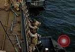 Image of US Army amphibious landing exercise from USS Elizabeth C. Stanton, AP- United States USA, 1942, second 37 stock footage video 65675020464