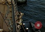 Image of US Army amphibious landing exercise from USS Elizabeth C. Stanton, AP- United States USA, 1942, second 38 stock footage video 65675020464