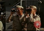 Image of Officers observe maneuvers from USS Elizabeth C. Stanton, AP-69 United States USA, 1942, second 2 stock footage video 65675020465
