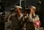 Image of Officers observe maneuvers from USS Elizabeth C. Stanton, AP-69 United States USA, 1942, second 3 stock footage video 65675020465