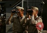 Image of Officers observe maneuvers from USS Elizabeth C. Stanton, AP-69 United States USA, 1942, second 4 stock footage video 65675020465