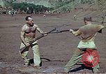 Image of Bayonet drill United States USA, 1942, second 4 stock footage video 65675020467