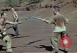 Image of Bayonet drill United States USA, 1942, second 8 stock footage video 65675020467